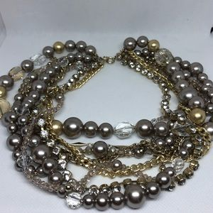 Multi Strand Loft Necklace